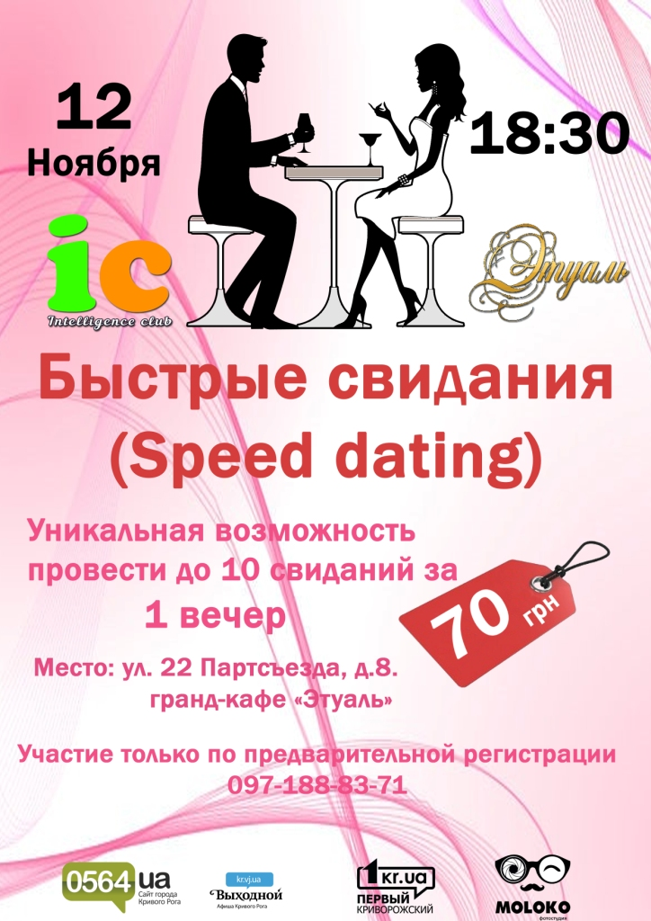 "12.11.2015 Быстрые свидания ""Speed dating"""